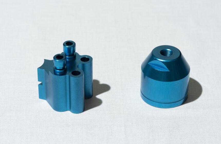 アルミ試作品 カラーアルマイト